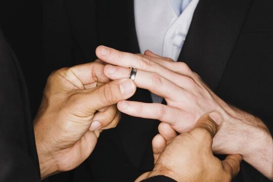 Groom Wedding band | Shimansky